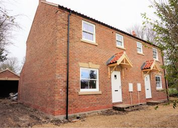 Thumbnail 3 bed semi-detached house for sale in Pulham, Driffield
