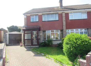 Thumbnail 3 bed semi-detached house for sale in Goodwood Close, Michaelston-Super-Ely, Cardiff
