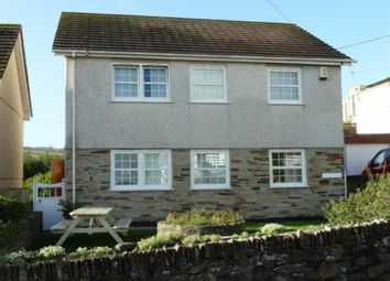 Thumbnail 4 bed detached house to rent in Perranporth
