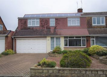 Thumbnail 4 bedroom semi-detached house for sale in Cheraton Close, Swindon