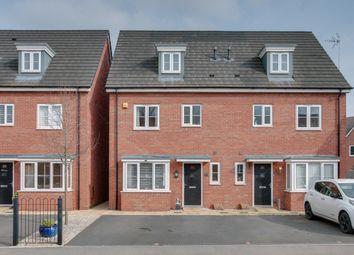 Thumbnail 4 bed town house for sale in Fairey Street, Cofton Hackett, Birmingham