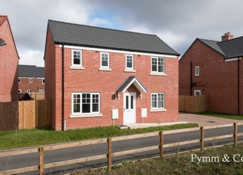 Thumbnail 3 bed detached house for sale in Barnes Close, Wymondham