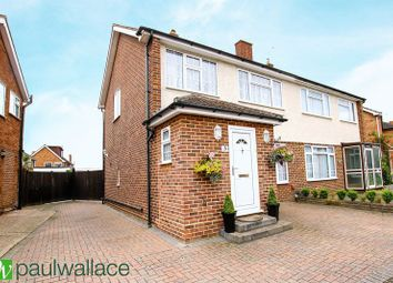 Thumbnail 3 bed semi-detached house for sale in Morland Way, Cheshunt, Waltham Cross