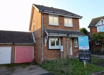 Thumbnail 3 bed detached house for sale in Chartwell Close, Seaford, East Sussex