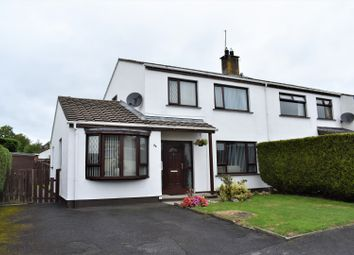 Thumbnail 3 bed semi-detached house for sale in Larchwood, Banbridge