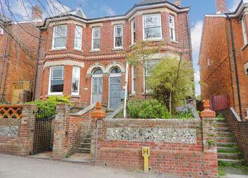 Thumbnail 2 bedroom maisonette to rent in Stockbridge Road, Winchester