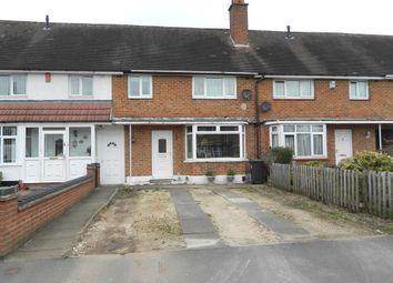 Thumbnail 3 bedroom terraced house for sale in Pencroft Road, Shard End, Birmingham