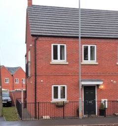 Thumbnail 2 bed end terrace house for sale in Great Central Road, Loughborough