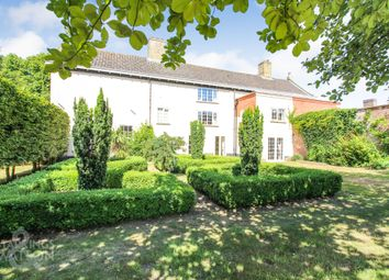 Thumbnail 7 bed detached house for sale in Burnt House Road, Cantley, Norwich