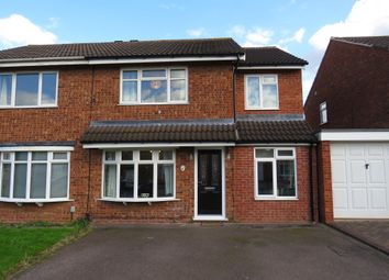 Thumbnail 4 bed semi-detached house for sale in Brookweed, Tamworth