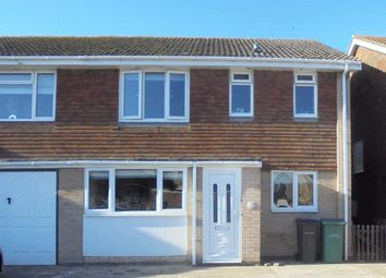 Thumbnail 3 bed semi-detached house for sale in Denham Way, Camber, Rye