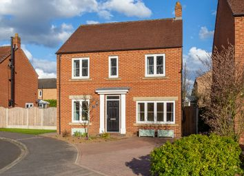 Thumbnail 4 bed detached house for sale in Holmefield Close, Brayton, Selby