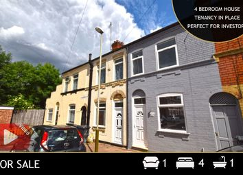 4 bed terraced house for sale in Lambert Road, Leicester, Leicestershire LE3