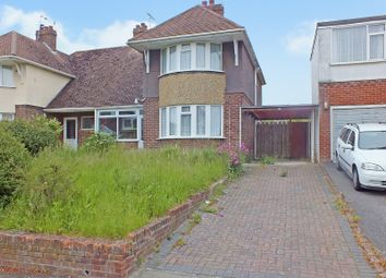 Thumbnail 3 bed semi-detached house for sale in Downs Road, Folkestone