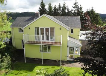 Thumbnail 4 bed detached house for sale in Greenfields House, Long Length, Caersws, Powys