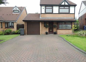 Thumbnail 4 bed detached house for sale in Sandringham Avenue, Audenshaw, Manchester