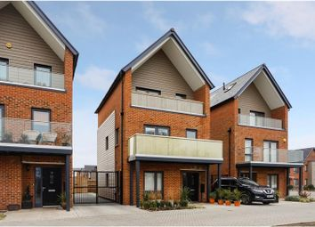 Thumbnail 4 bed detached house for sale in Jelley Way, Woking