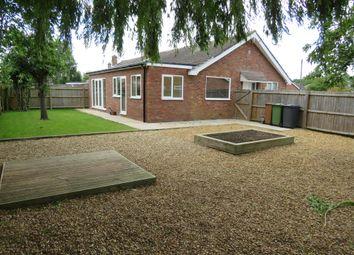 Thumbnail 3 bed semi-detached bungalow for sale in Ely Close, Werrington, Peterborough