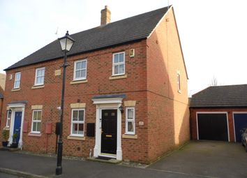 Thumbnail 3 bedroom semi-detached house to rent in Eyre Close, Aylesbury