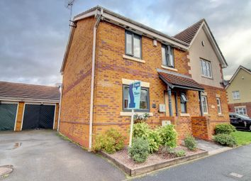 Thumbnail 4 bed semi-detached house for sale in Barnetts Lane, Brownhills, Walsall