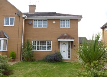 Thumbnail 3 bed semi-detached house to rent in Two Sisters Close, Sutton Bridge, Spalding