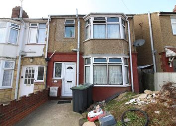Thumbnail 3 bedroom end terrace house for sale in Beverley Road, Luton