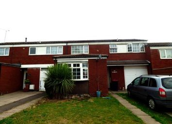 Thumbnail 3 bed terraced house for sale in Peartree Avenue, Kingsbury, Tamworth, Staffordshire
