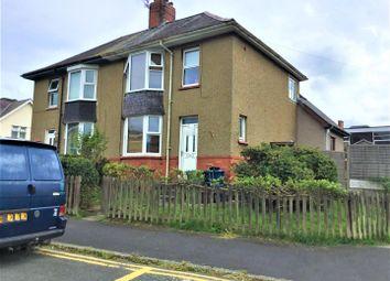 Thumbnail 3 bed semi-detached house for sale in Ffordd Islwyn, Bangor, Caernarfonshire