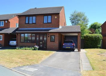 Thumbnail 3 bed detached house for sale in Richmond Drive, Lichfield