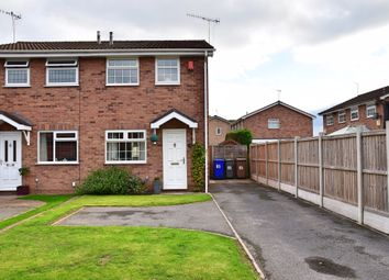 Thumbnail 2 bed semi-detached house for sale in Burrington Drive, Trentham, Stoke-On-Trent