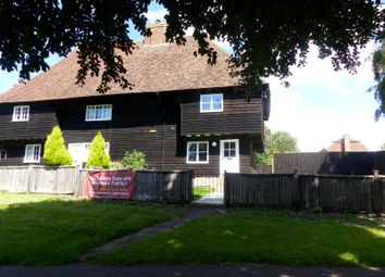 Thumbnail 2 bed cottage to rent in Rose Cottages, The Green, Maidstone