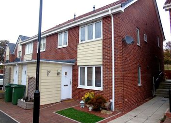 Thumbnail 2 bed semi-detached house to rent in Swan Court, Sunderland