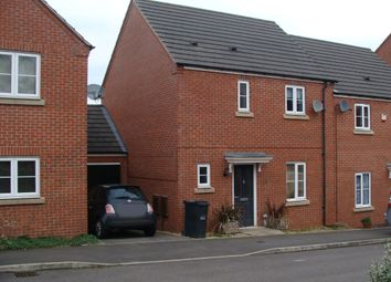 Thumbnail 3 bed semi-detached house to rent in Dixon Close, Enfield, Redditch
