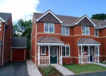 Thumbnail 3 bed end terrace house to rent in Swan Drive, Hanbury Park, Worcestershire
