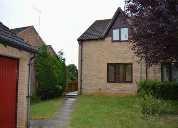 Thumbnail 2 bedroom semi-detached house to rent in Sentinel Road, West Hunsbury, Northampton