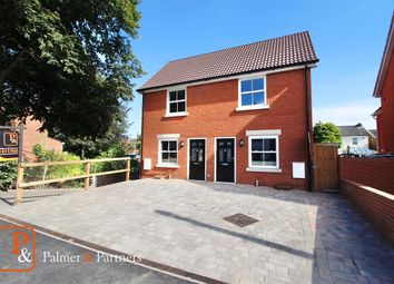 Thumbnail 2 bed semi-detached house for sale in Lacey Street, Ipswich
