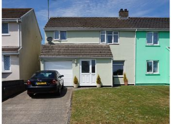4 bed semi-detached house for sale in Bartletts Well Road, Tenby SA70