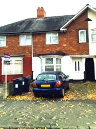 Thumbnail 3 bedroom shared accommodation to rent in Wardend Road, Ward End, Birmingham