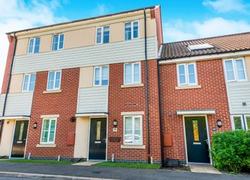 Thumbnail 3 bed town house for sale in Narrowboat Lane, Pineham Lock, Northampton