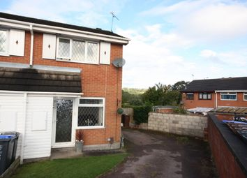 Thumbnail 1 bedroom end terrace house to rent in Banbury Grove, Biddulph, Stoke-On-Trent