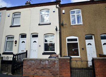 Thumbnail 2 bedroom terraced house to rent in Queens Road, Hinckley, Leicestershire