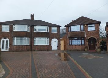 Thumbnail 3 bed semi-detached house to rent in Padstow Road, Erdington