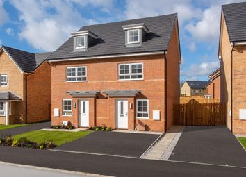 "Thumbnail 4 bed semi-detached house for sale in ""Kingsville"" at Bruntcliffe Road, Morley, Leeds"