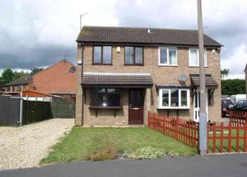 Thumbnail 2 bedroom semi-detached house to rent in Lydd Close, Lincoln