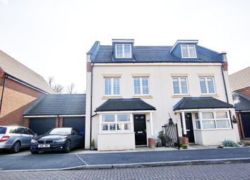 Thumbnail 4 bedroom semi-detached house for sale in Damson Drive, Hartley Wintney
