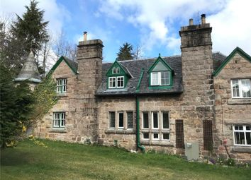 Thumbnail 1 bed terraced house to rent in 4 Bush Cottages, Glen Tanar, Aboyne, Aberdeenshire