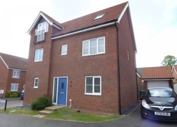 Thumbnail 6 bed detached house for sale in Jasmine Walk, Cringleford