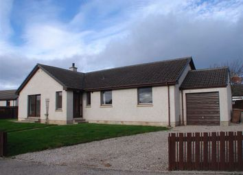 Thumbnail Detached bungalow for sale in St Peters Road, Duffus, Moray