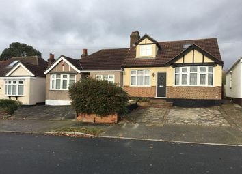 Thumbnail 4 bedroom semi-detached bungalow to rent in Hillfoot Road, Romford