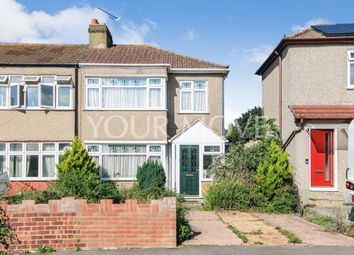 Thumbnail 3 bed semi-detached house for sale in Riversdale Road, Romford